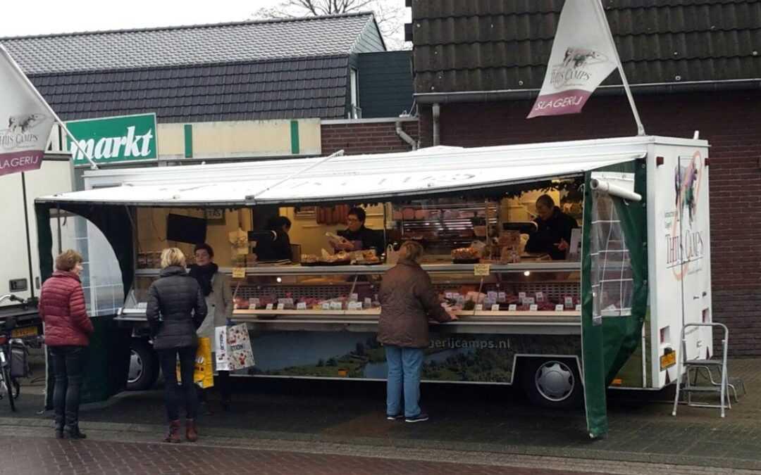 Weekmarkt Hegelsom krijgt nieuwe plek